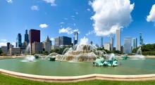 Buckingham Fountain In Chicago...