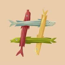 Fish - Hashtag
