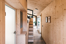 Beautiful Minimalist Tiny House Interior