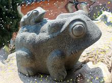 조형물 개구리