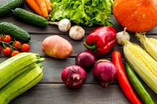 Fresh Vegetables Still Life. P...