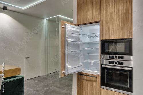 Obraz na płótnie Multifunctional modern kitchen