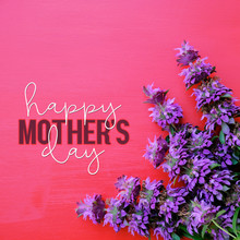 Happy Mother's Day Text On Pin...