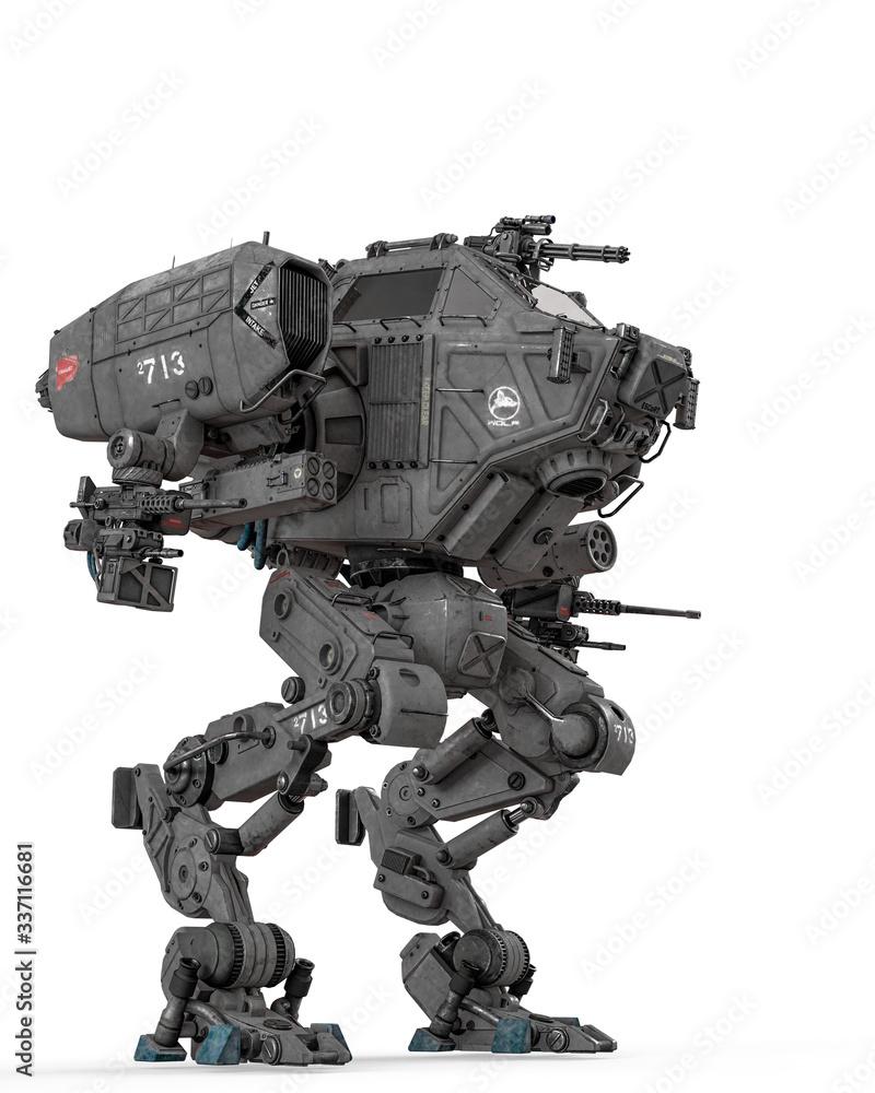 Fototapeta super war machine