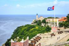 Havana Cuba Faro Del Castillo ...