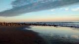 Fototapeta Morze - Scenic View Of Beach Against Sky