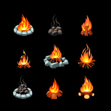 Campfire. Collection Pictures ...