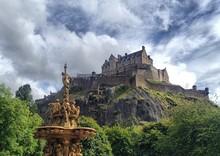 Low Angle View Of Edinburgh Ca...