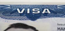 Macro Of Usa Visa