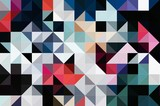 Abstract Colorful Geometrical Artwork,Abstract Graphical Art Background Texture,Modern Conceptual Art