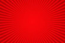 Red Sunburst Pattern Backgroun...