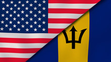The Flags Of United States And...