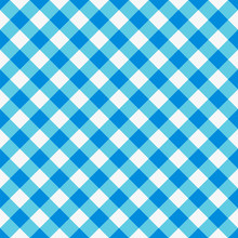 Blue Checkered Textile Product...
