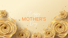 Happy Mother's Day Banner. Hol...