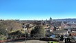 Rome Cityscape Against Clear Blue Sky