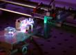 Laser development system in optical laboratory.