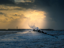 Pier In The Storm, Port Talbot