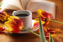 A Cup Of Coffee, Beautiful Spr...