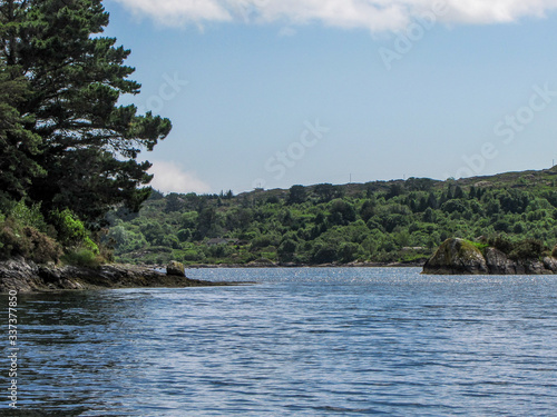Photo Bantry Bay, View with Trees and Hills