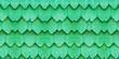 Leinwanddruck Bild - Green Wooden Roof House Texture