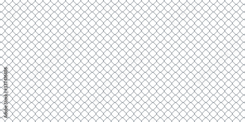 vector background of diamond shaped metal fence mesh Canvas