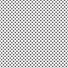 Black White Seamless Pattern With Triangle