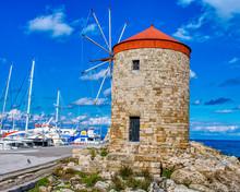 Rhodes, Greece Old Windmills I...