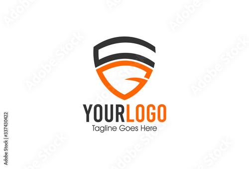 Fotografija letter g shield protection logo