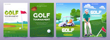 Golf Tournament Posters With I...