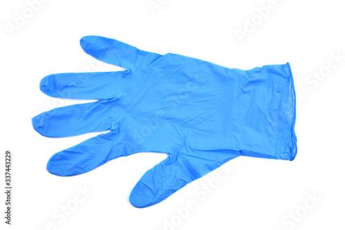 Obraz rękawiczka jednorazowa - fototapety do salonu