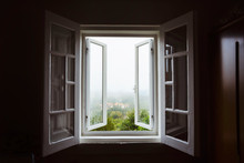 Wide Open Window With Amazing ...
