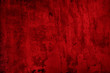 canvas print picture - Abstract old red textured background.