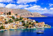 Most Beautiful Colorful Island...