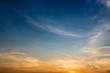 Leinwandbild Motiv Low Angle View Of Sky At Sunset
