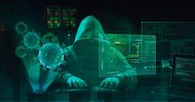 Hacker Virus Malware Attack Du...