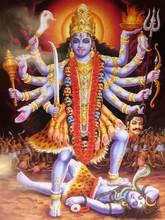 Kali Goddess Of Death Indian H...