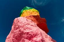 Colored Rocks - Seven Magic Mountains -