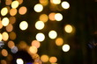 The blur of the lights is a beautiful bokeh at night.