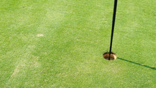Field Does Golf Hole And Ball ...