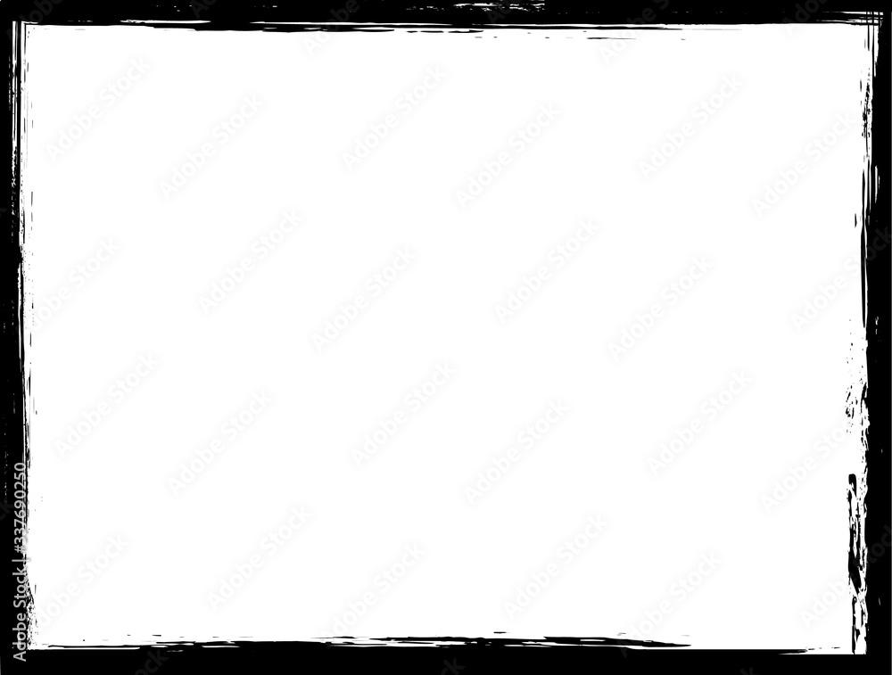 Fototapeta Grunge border frame for your design.