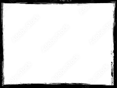 Obraz Grunge border frame for your design. - fototapety do salonu