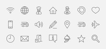 Set Of Web Vector Line Icons. ...