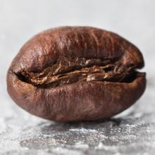 Ziarno Kawy W Zbliżeniu