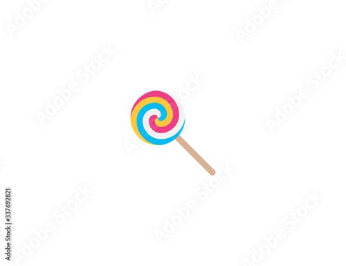 Lollipop vector flat icon Fototapeta
