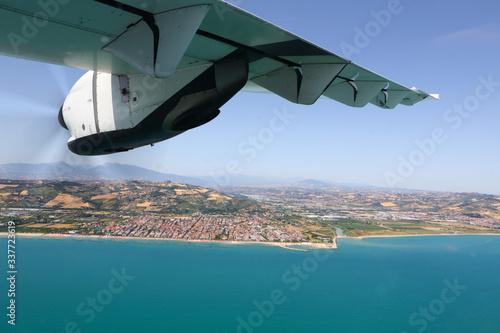 Photo La costa tra Marche e Abruzzo  vista dall'aereo
