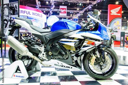 Suzuki GSX-R 1000 motorbike
