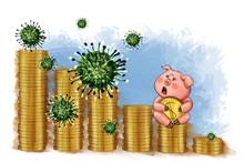 Coronavirus Infects Money, Eco...