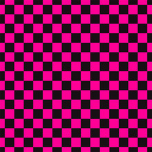 Emo Subculture Black And Bright Pink Background. Vector Illustration