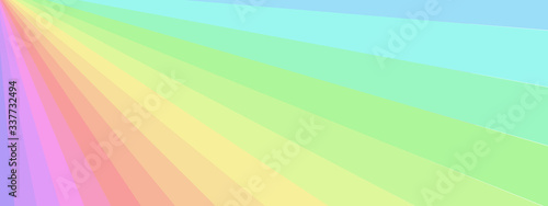 Fotografie, Tablou abstract rainbow rays background colorful textures vector illustration graphic d