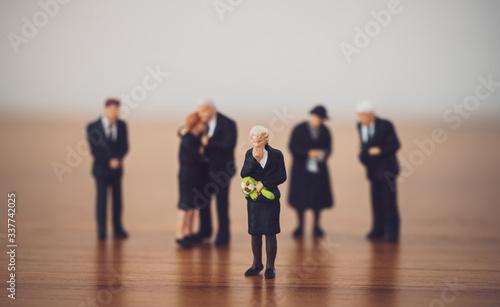 葬式・葬儀 Fototapete